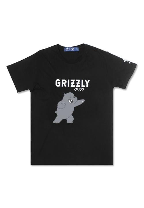 Third Day MTD80F grizzly mono we bare bear WBB bk T-shirt hitam