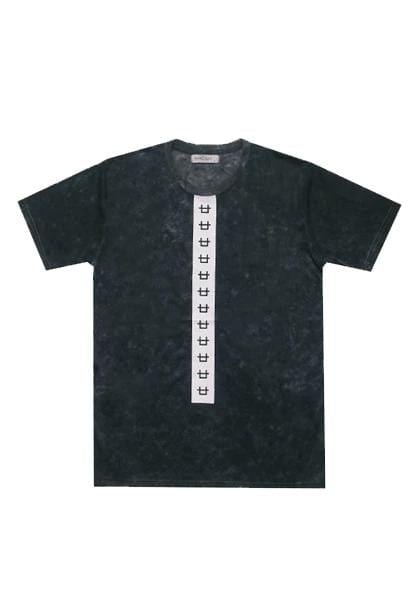 KMT010 s/s Men Logo tounge smky wash nv