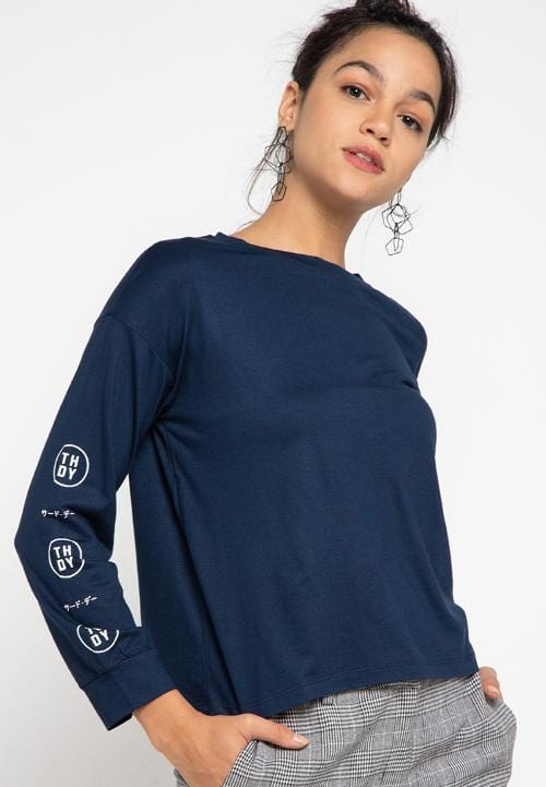 LTC56 lv evo arm navy kaos hijab ladies