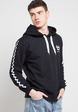 Third Day MO120D hoodies zigzag arm dakir logoicon blk Hoodie Hitam