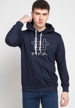 Third Day MO115C hoodies logoicon outline nv Hoodie Navy