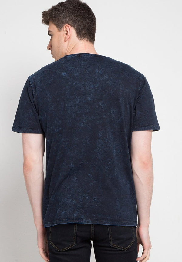 Third Day MTD24C washtess osaka arc logo nv T-shirt Navy