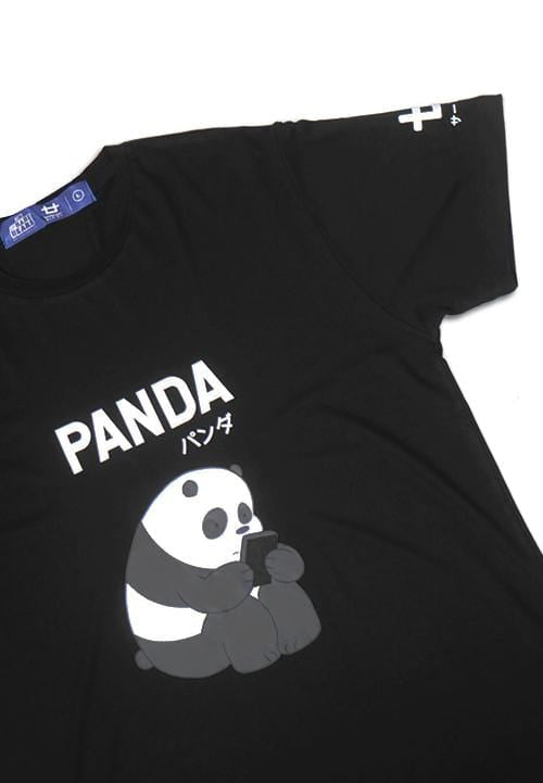 Third Day MTD78F panda mono we bare bear bk T-shirt Hitam