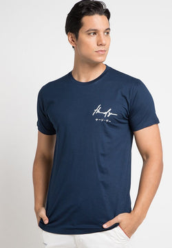 Third Day MTD86F thdy sign nv T-shirt Navy