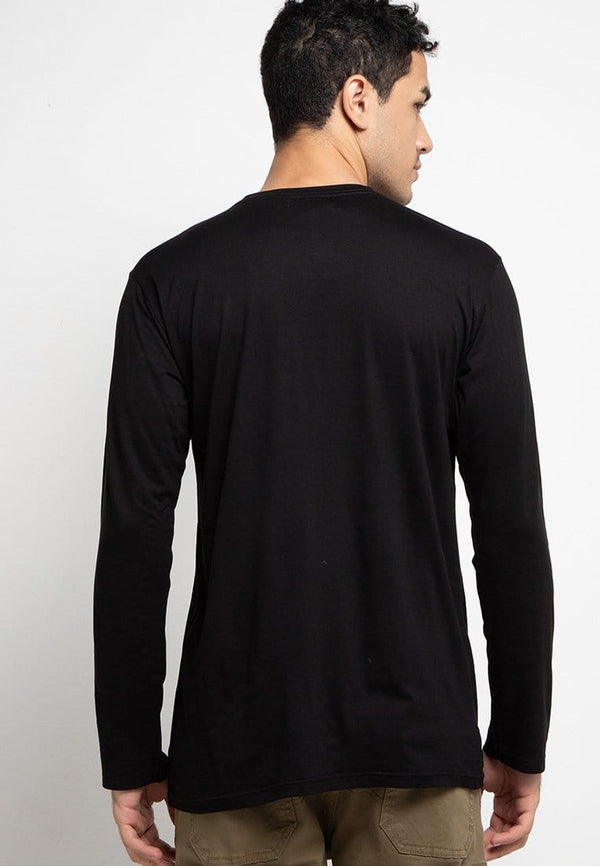 Third Day MTE51 long sleeve thdysign blk T-shirt Hitam