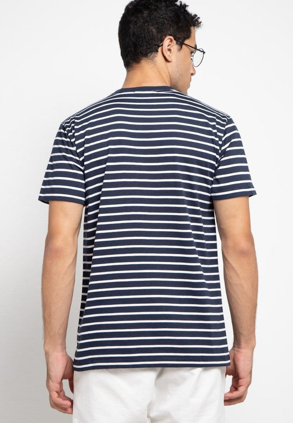 Third Day MTE69 logo dakir nv-wh T-shirt Navy
