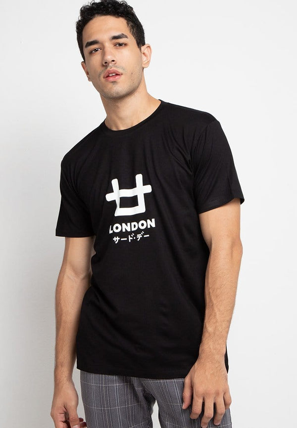 Third Day MTE90 logoicon london blk T-shirt Hitam