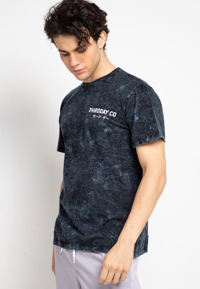Third Day MTF38 washtees hansief nvy kaos pria Navy