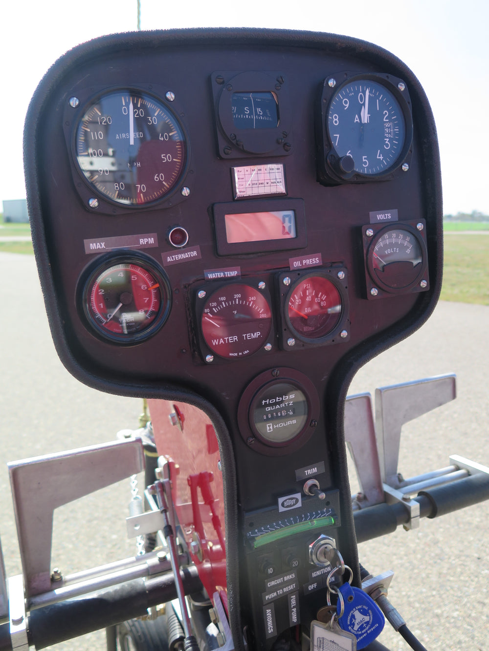 Instrument Panel, Helicopter Style