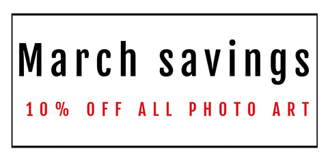 discount code photo art March 2019