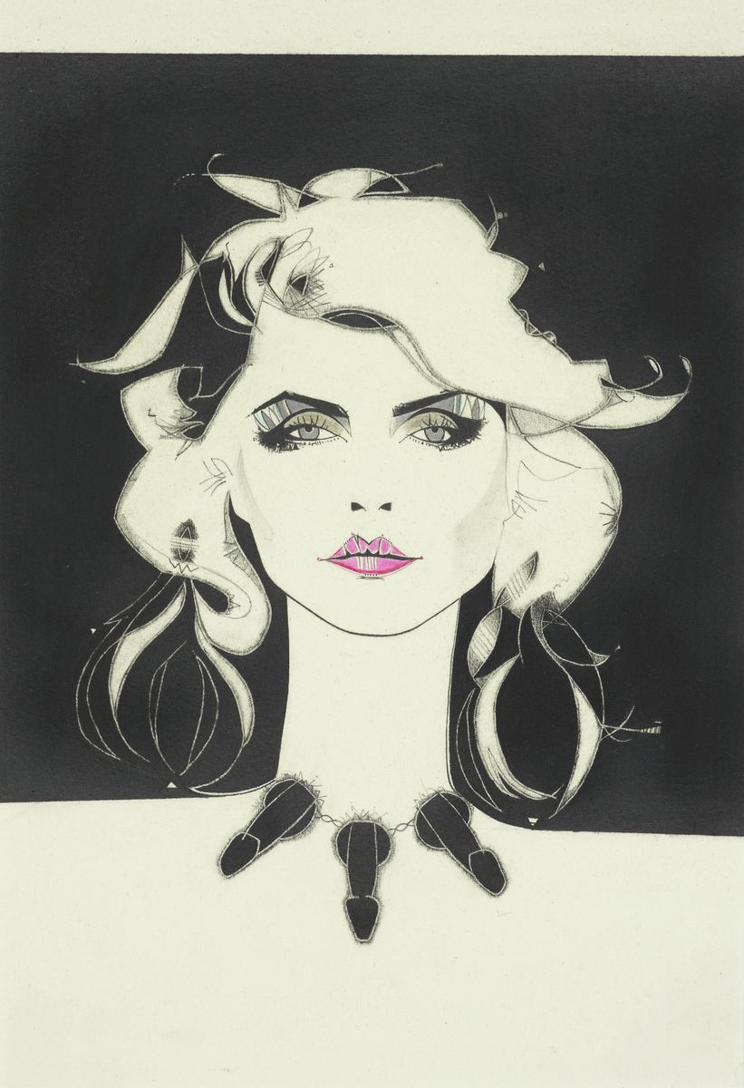 Blondie singer Debbie Harry. New wave, punk scene. Underground