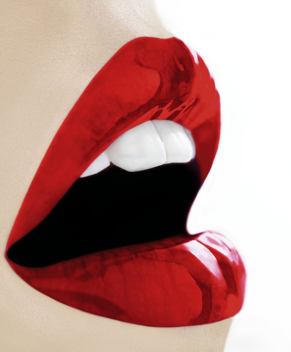 Red Lust | Pop art | Lips  | Limited Edition | Print on C-Type Metallic | Art Poster | Wall Art