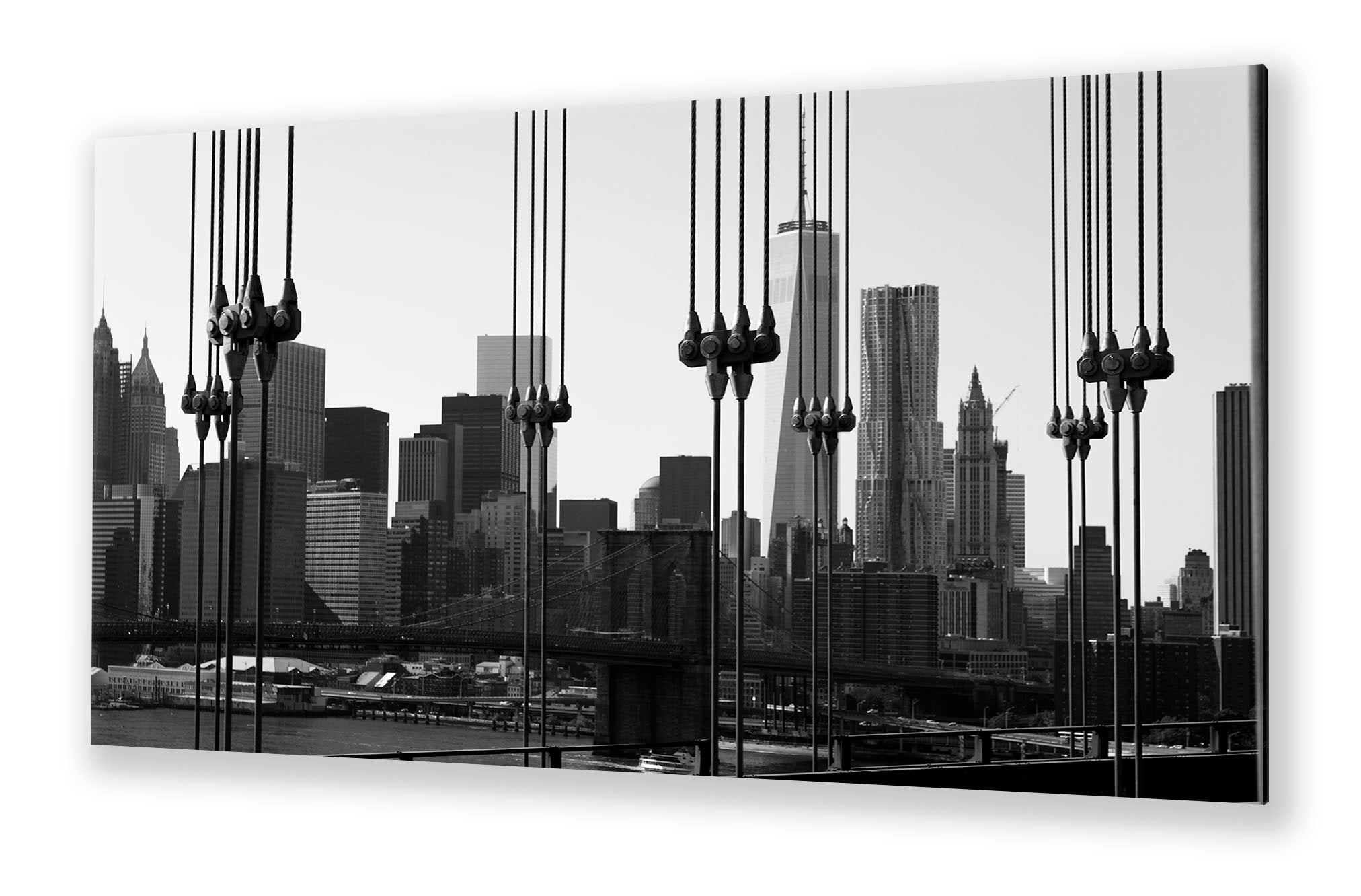 Manhattan Bridge, New York | Special edition Art Print on Aluminium