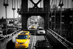 Manhattan Bridge Taxi, New York | Jonathan Leih