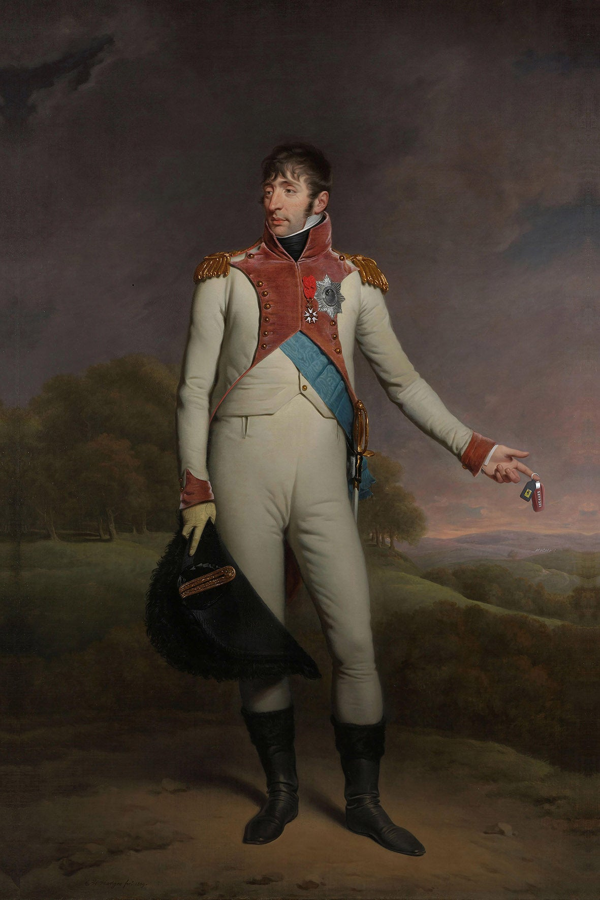 Napoleon, Little Big Ballr | Special edition Print on Aluminium