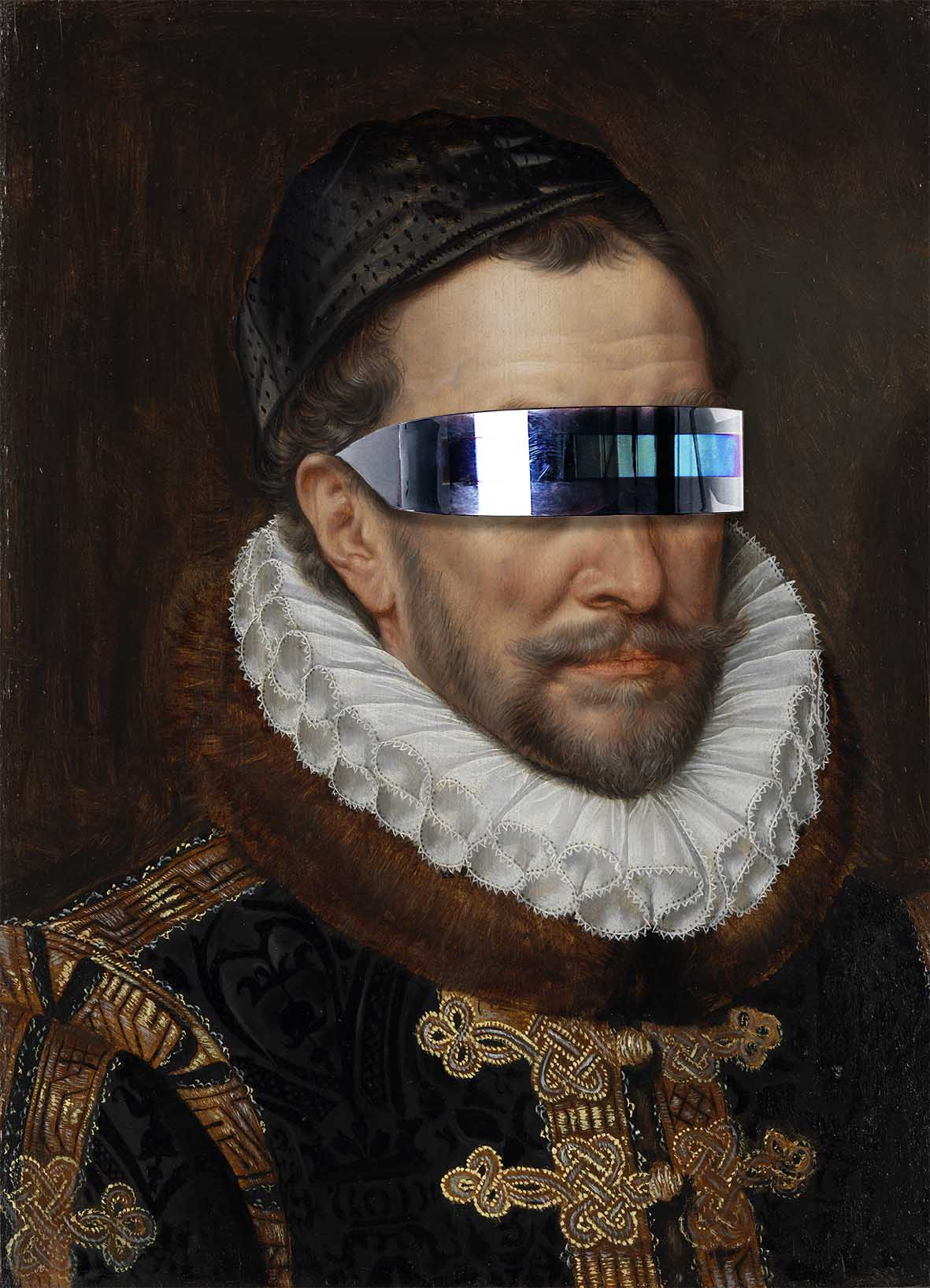 Willem I, Prince of Orange | Special edition Art Print on Aluminium