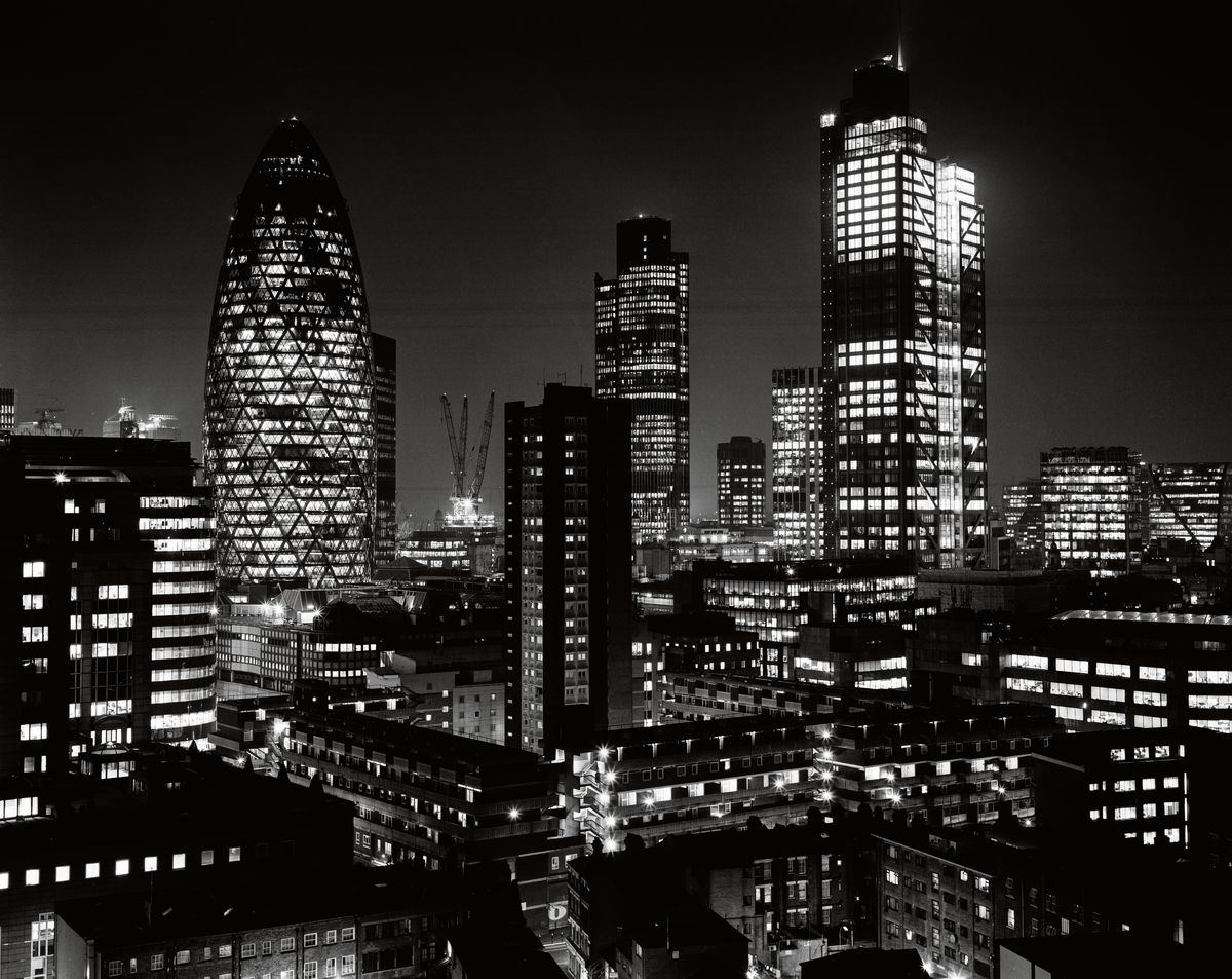 LONDON CITY NIGHTSCAPE