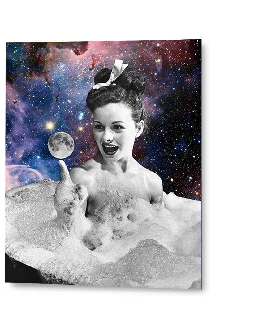 Galaxy Girl | Special edition Art Print on Aluminium