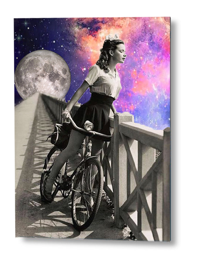 To the Moon and Back | Special edition Art Print on Aluminium