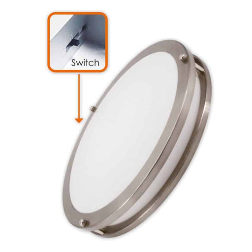 Votatec 3Way CCT Adjustable 15″ Slim Flush Mount
