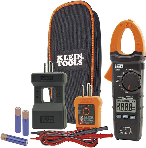 Klein Tools CL110KIT Electrical Maintenance and Test Kit - Consavvy