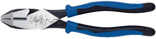 Klein J2000-9NECR 9-Inch Journeyman High Leverage Side Cutting Pliers Connector Crimping - Consavvy