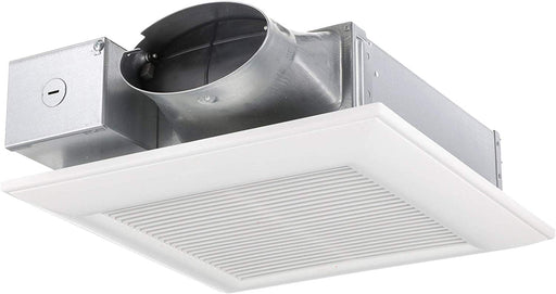 Panasonic FV-0510VS1 WhisperValue Multi-Flow Bathroom Fan, White - Consavvy