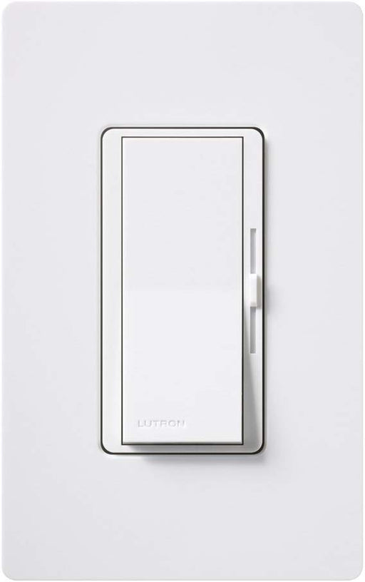 Lutron DVCL-153PH-WHC Diva C.L Dimmer Switch for Dimmable LED, Halogen and Incandescent Bulbs, with Wallplate, Single-Pole or 3-Way - Consavvy