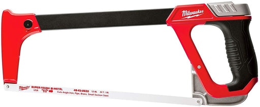 MILWAUKEE ELEC TOOL 48-22-0050 - High-Tension Hacksaw, Reinforced Metal Frame, 12-In. - Consavvy