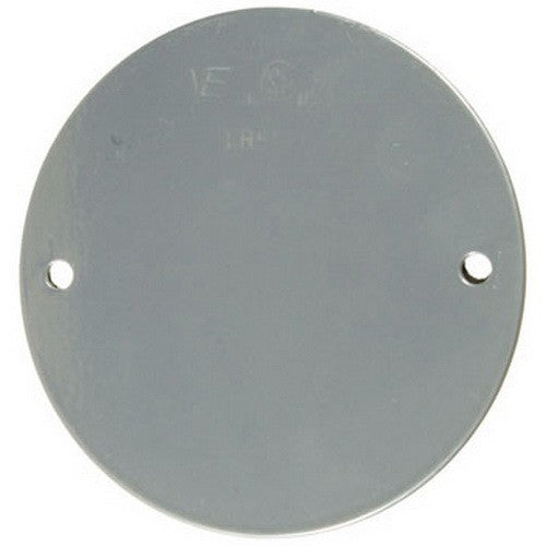 VISTA 20100 1Pack/10Pack Round Weatherproof cover w/gasket - Grey - Consavvy