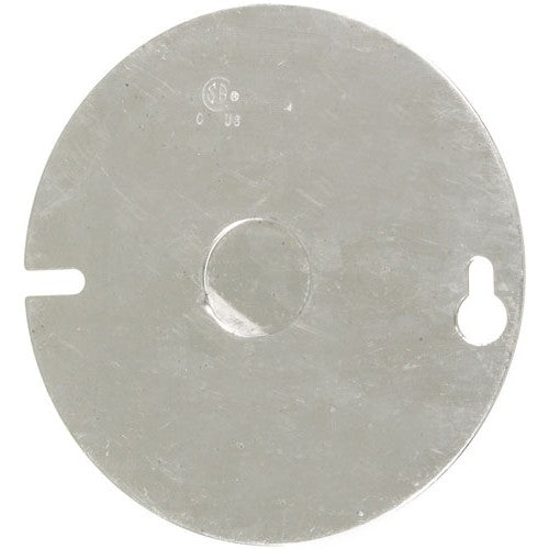 "VISTA 20102 1Pack 4"" Round Cover with ½"" Centre knockout - Consavvy"