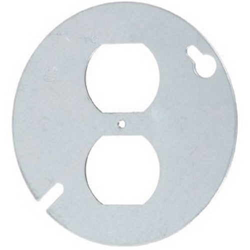 "VISTA 20104 1Pack 4"" Round Cover - Duplex Outlet - Consavvy"