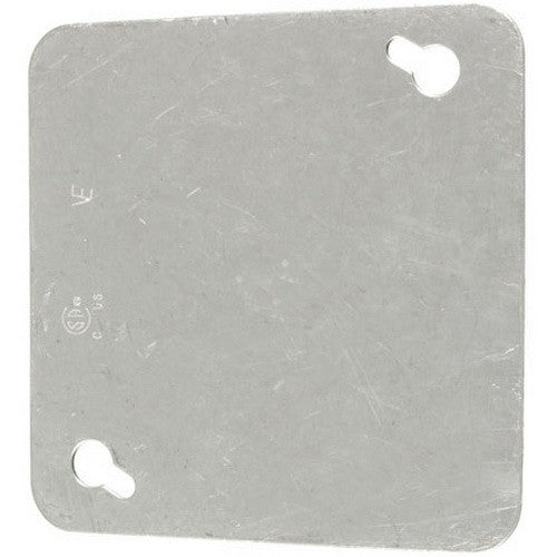 "VISTA 20115 1Pack/10Pack 4"" Square Cover-Blank - Consavvy"