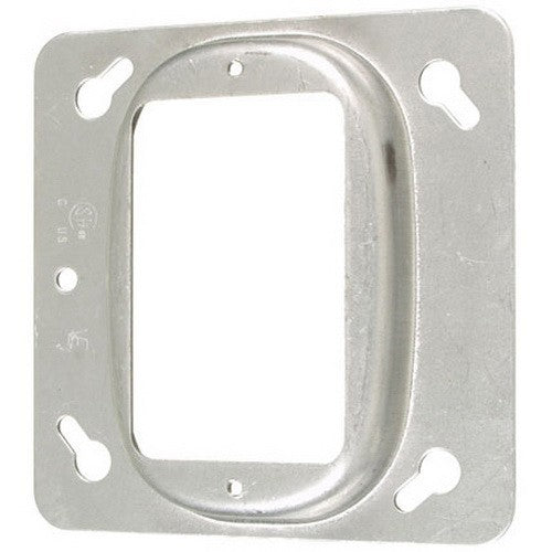 "VISTA 20117 1Pack/10Pack 4"" Square Cover-1 Device-Raised 1/2"" - Consavvy"