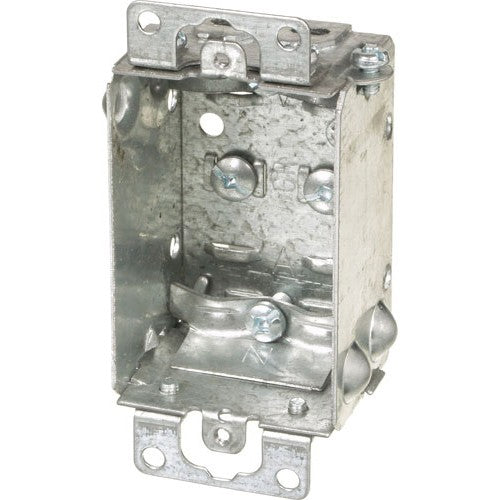 "VISTA 20153  1Pack 1 1/2"" Deep Shallow Box w/Clamps - Consavvy"