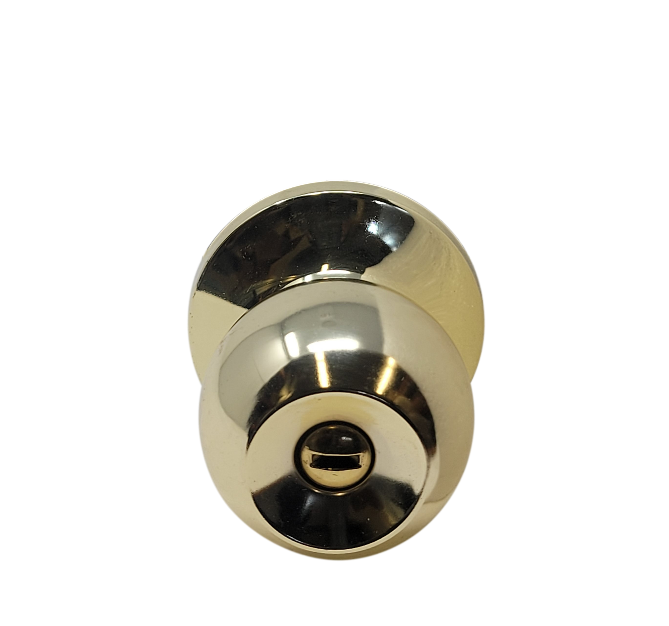 Consavvy Door Lock, Door knob - Polished Brass (Gold) - Entry with Key/Privacy no Key/Passage no Key