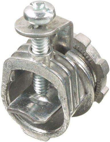 "VISTA 20310 50 Pack 3/8"" Box Connector - 1 screw - 50/box - Consavvy"