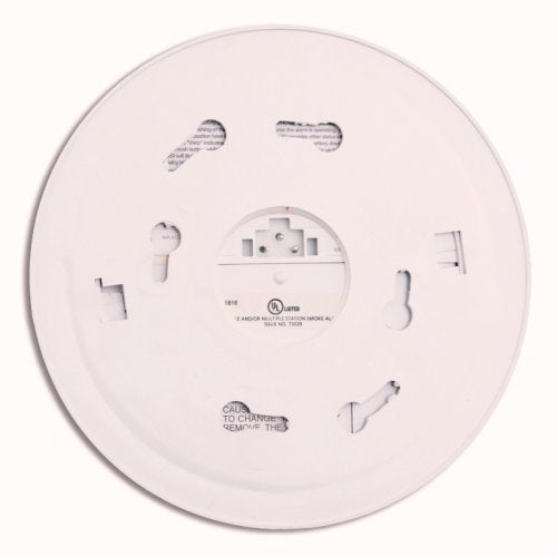 Kidde Direct Wire - 120V Smoke Alarm with Hush Button and Battery Backup - Consavvy