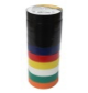 VISTA 45531 Electrical Tape-66' - Assorted colour (6 each coulours + 4 black) - Consavvy