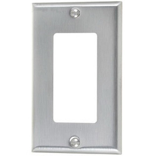 VISTA 45721 1Pack/10 Pack Single Decorator plate  #430 S.S Grade - Consavvy