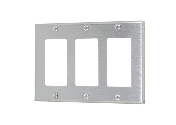 VISTA 45723 1Pack Triple Decorator plate #430 S.S Grade - Consavvy