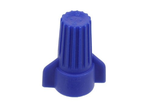 VISTA 49245 Wing Twist Connector - Blue - 50/BAG - Consavvy