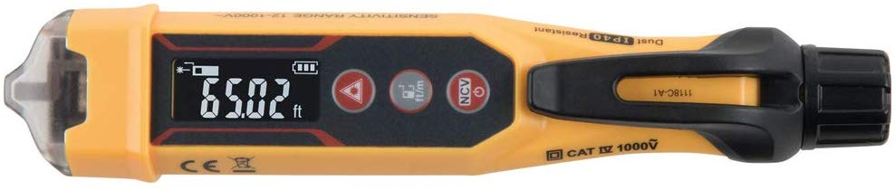 Klein Tools NCVT-6 Non-Contact Voltage Tester with Laser Distance Meter - Consavvy