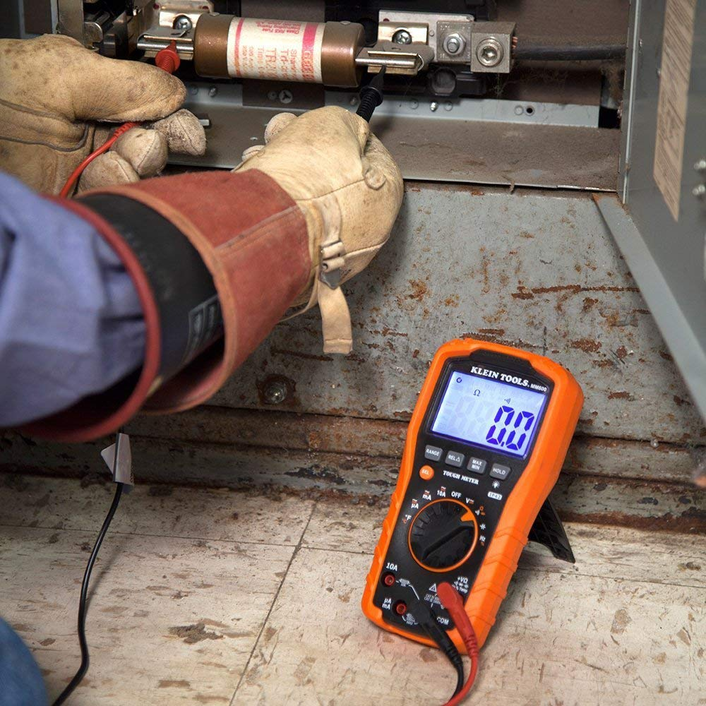 Klein Tools MM600 Auto-Ranging 1000V Digital Multimeter - Consavvy
