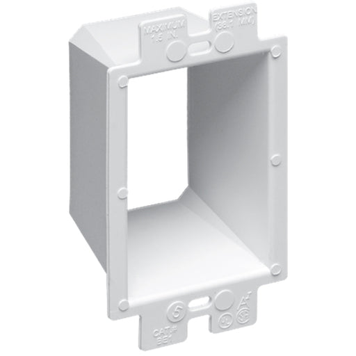 ARLINGTON BE1 BOX EXTENDER PLASTIC