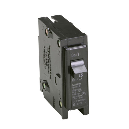 Eaton BR115 Cutler-Hammer 15 Amp Single Pole Plug-in Circuit Breaker