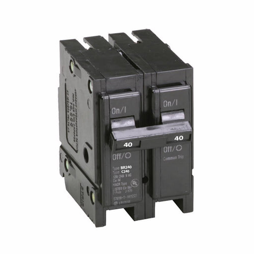 Eaton BR240 Cutler-Hammer 40 Amp Double Pole Plug-in Circuit Breaker