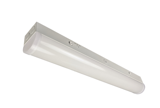 DawnRay 2' LED Commercial Strip Light 2600 lumens 3CCT 3500K/4000K/5000K Switchable