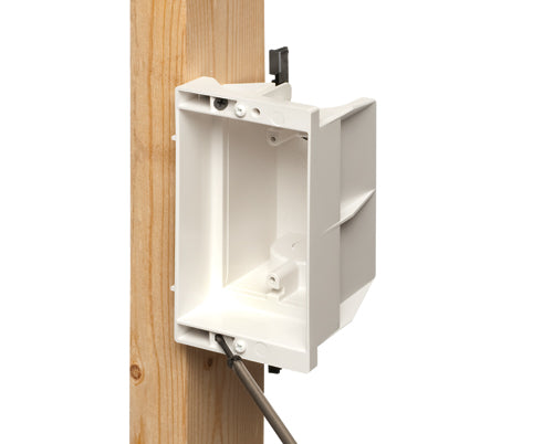Arlington Non-Metallic Power/Low Voltage Recessed Box DVFR1WGC White