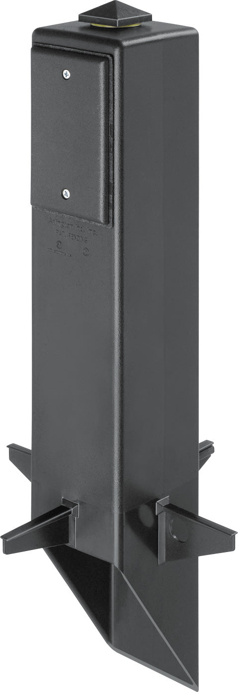 "Arlington GP19BGC - 19.5"" Support for Outdoor Light Fixture - Black"